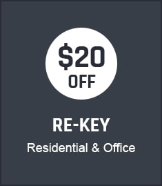Re-key Coupon